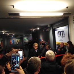 Inaugurazione con Sgarbi della Mostra al Museo Rimoldi - Casa delle Regole, Cortina D'Ampezzo - febbraio/aprile